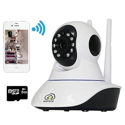 gcbtech G2 inalámbrica Wireless IP cámara Baby mascotas vídeo Monitor WiFi Vigilancia para iPhone IOS Android