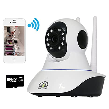 gcbtech G2 inalámbrica Wireless IP cámara Baby mascotas vídeo Monitor WiFi Vigilancia para iPhone IOS Android ...