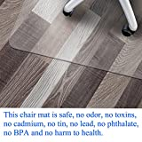 Office Chair Mat for Hardwood Floor by Somolux