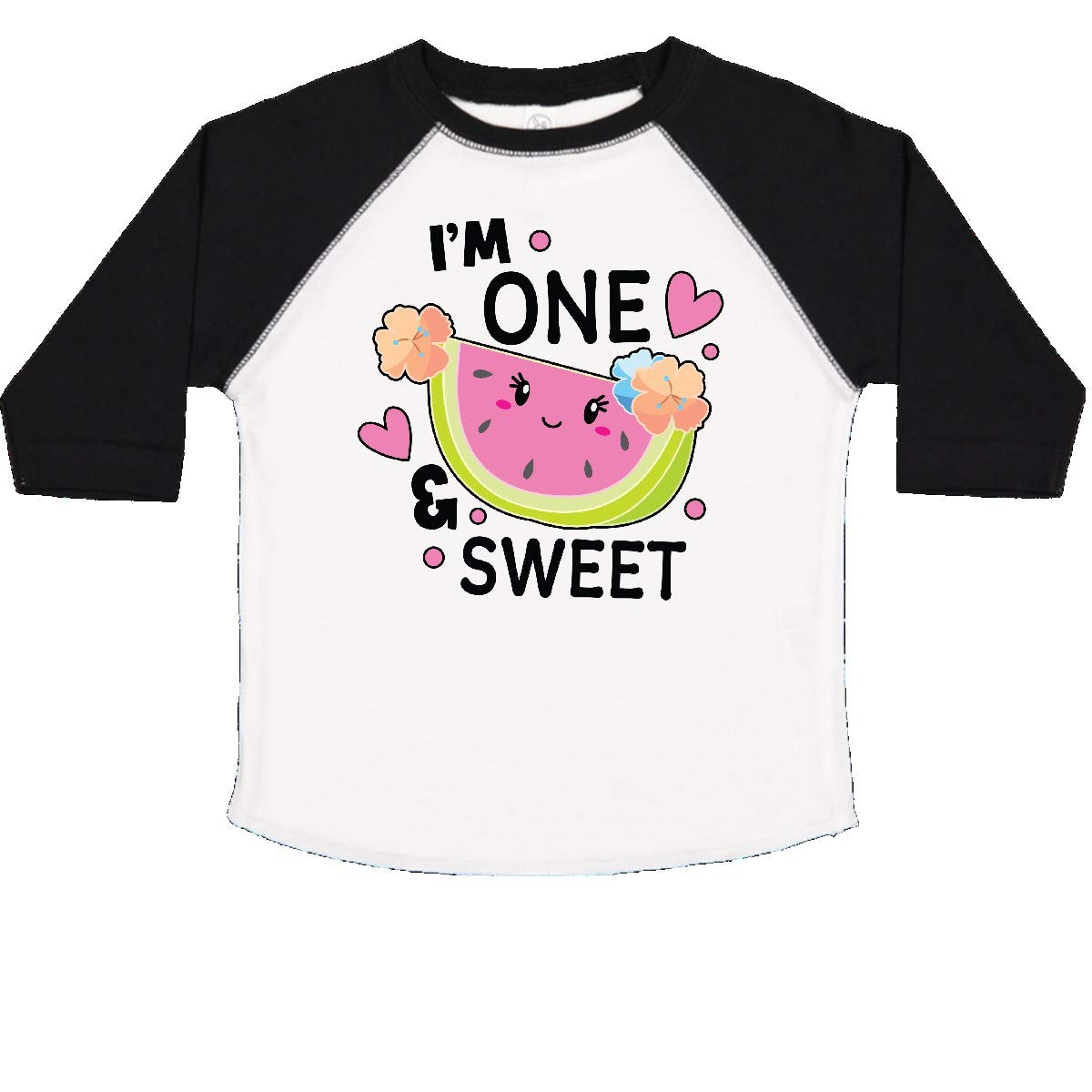 inktastic Im 1 and Sweet with Cute Watermelon Toddler T-Shirt