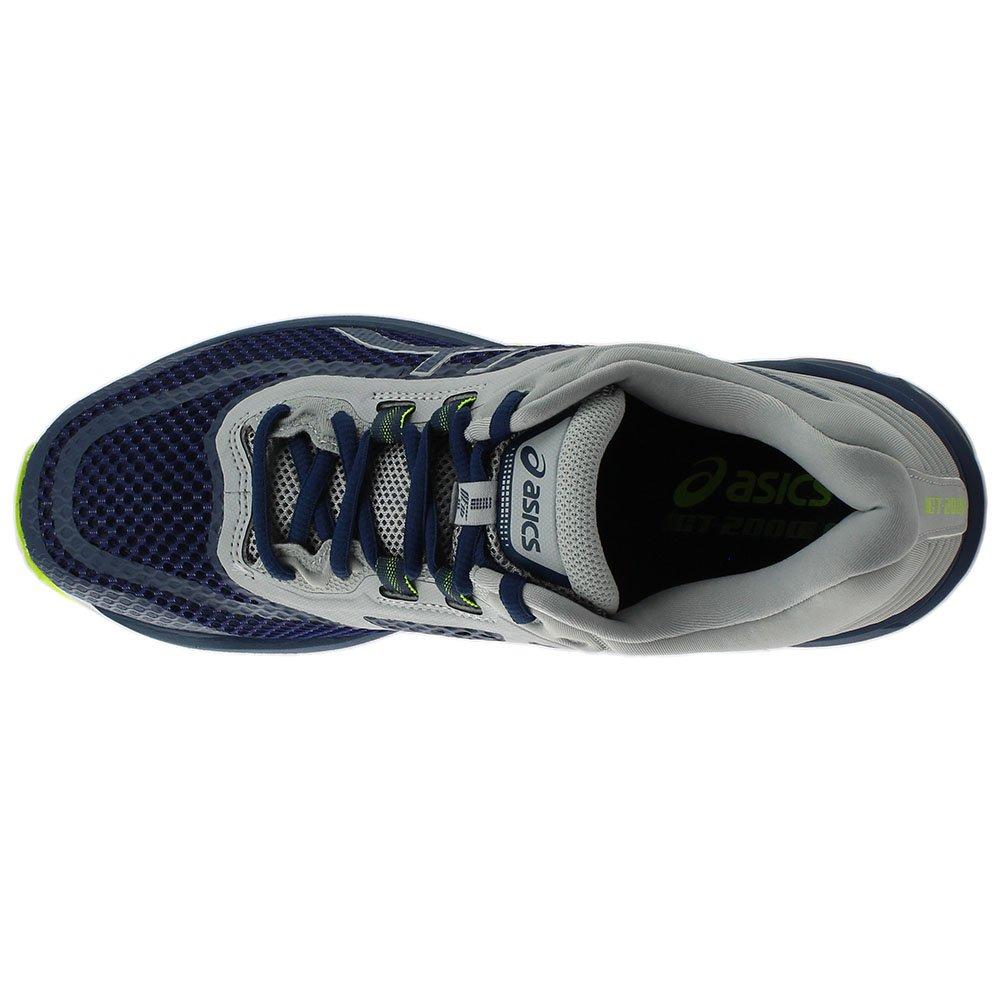ASICS GT-2000 6 Men's Running Shoe, Dark Blue/Dark Blue/Mid Grey, 7 M US by ASICS (Image #6)