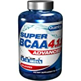 Quamtrax Nutrition Supplemento Nutrizionale Super BCAA 4.1.1, 200 Cap - 324 gr