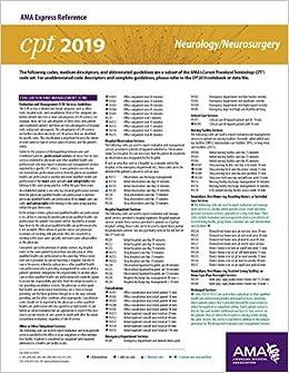 Erc-cpt 2019 - Neurology/Neurosurgery