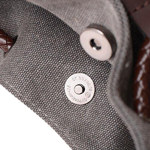 para marrón marrón al Super Bolso hombre Modern Grey1 hombro qwx4vI6