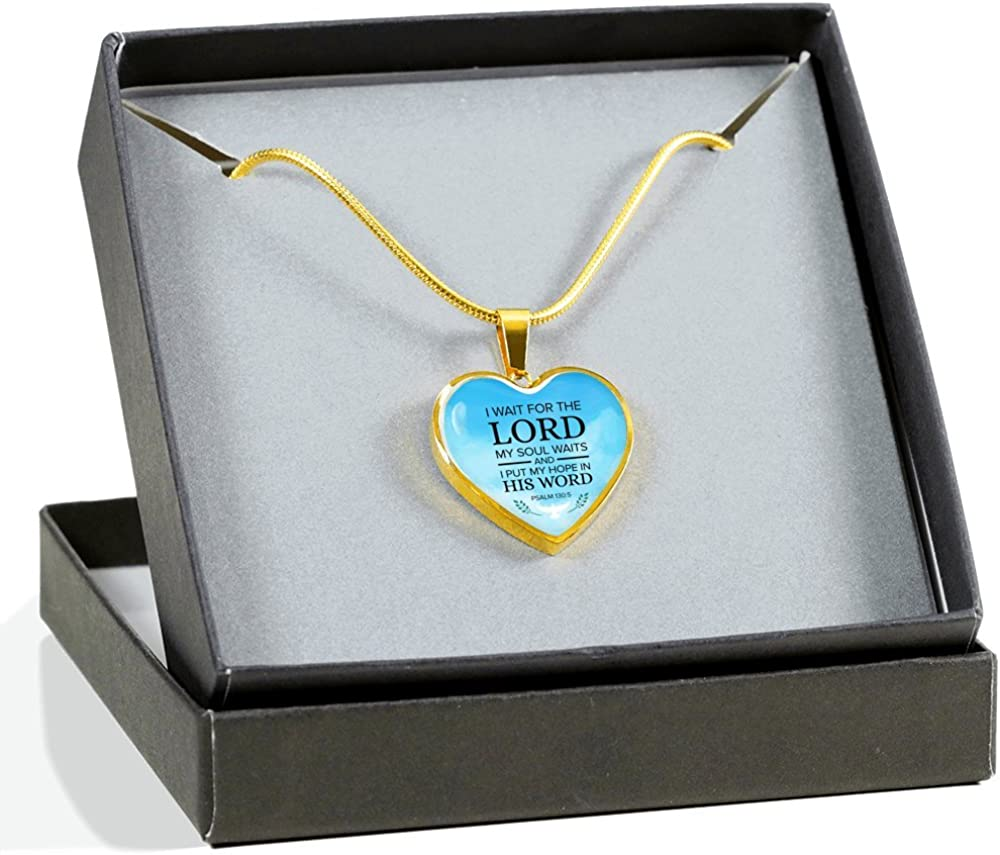 Express Your Love Gifts It is Well with My Soul Engravable Cross Pendant Stainless Steel-Silver Tone or 18k Gold Finish Necklace Adjustable 18-22 Box Packaged