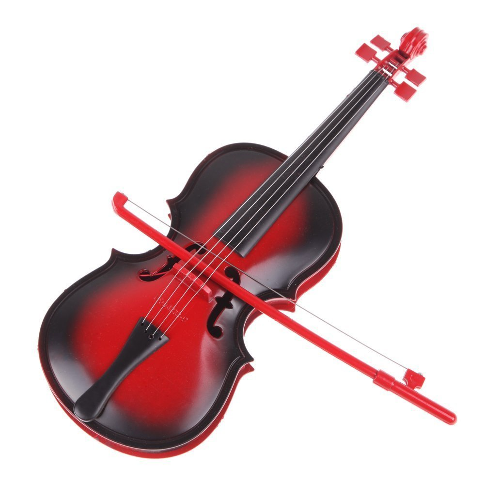 Amazon.com: Violín Toy – SODIAL (R) Rojo Niños Educativo ...