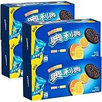 奥利奥缤纷双果味夹心饼干 甜橙味+芒果味194g*4盒