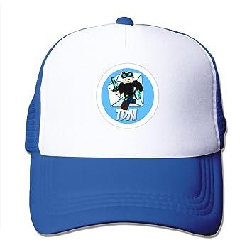 Bai xue dan TDM diamondminecart Unisex hasta gorra de béisbol ajustable, Azul real