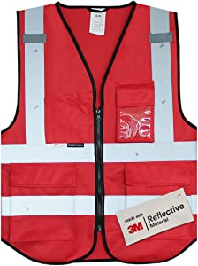 Salzmann 3M Multi Pocket Working Vest, Working Uniform, L/XL