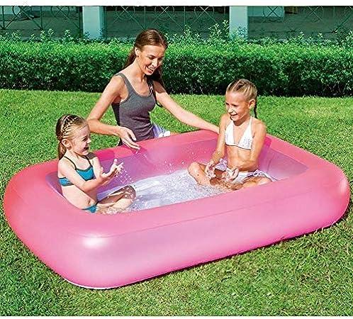 XSWZAQ Piscina para niños Inflable con Fondo de Burbujas para niños Piscina Familiar de Padres e Hijos Piscina de Juguete para niños: Amazon.es: Hogar
