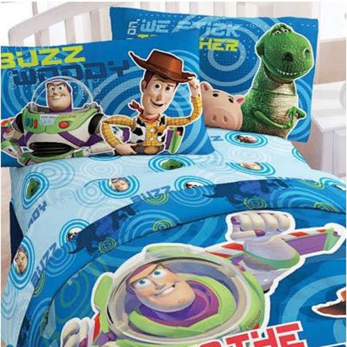 Toy Story Microfiber Twin Comforter W Matching Twin Sheets