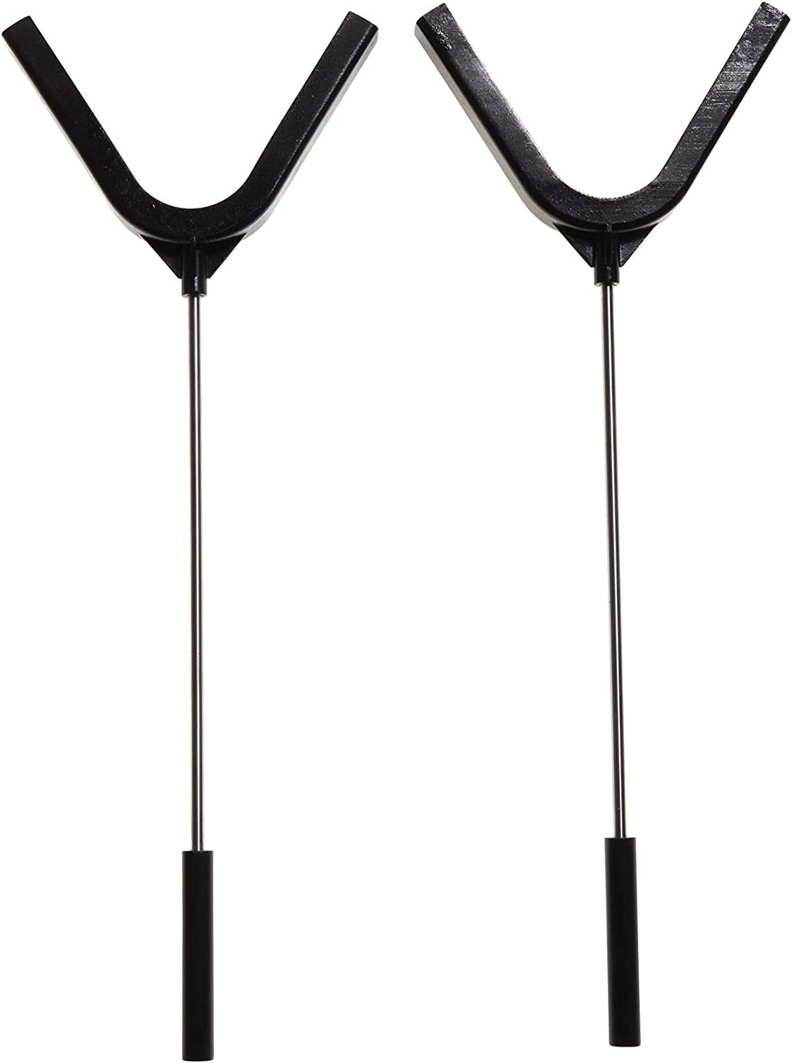 Allen Company EZ-Aim Clay Target Holder, Holds 4.5 inch Clay Targets, 2-Pack, Black, one Size