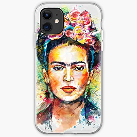 Frida Case Kahlo iPhone | Unique Design Snap Phone Case Cover for iPhone 11 | TPU Shockproof Interior Protective