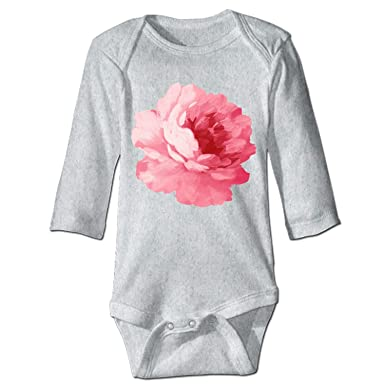 Amazon.com  EIGTU Pink Peony Infant Baby Boys Girls Clothing Shirts Long  Sleeves Rompers Jumpsuit  Clothing dfcdd0052
