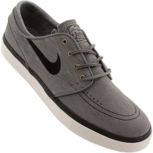 2ca3e2ded9b1 Nike SB Zoom Stefan Janoski Premium SE (Cool Grey Black-Light Ash Grey)  Men s Skate Shoe-8  Amazon.ca  Shoes   Handbags