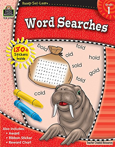 Ready-Set-Learn: Word Searches Grd 1