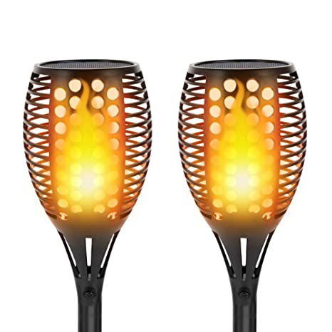 Brilliant Solar Torch Lights Dancing Flame Lighting 96 Led Flickering Tiki Wiring Digital Resources Kookcompassionincorg