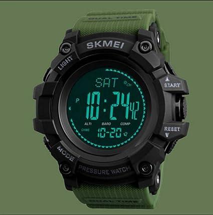 Reloj Deportivo Para Hombre Al Aire Libre De Múltiples Funciones Reloj Electrónico Multifunción Impermeable Para Hombres