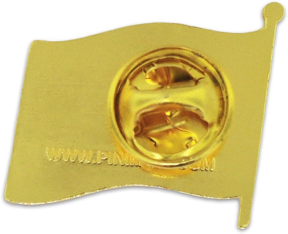 PinMart North Carolina US State Flag NC Enamel Lapel Pin 1