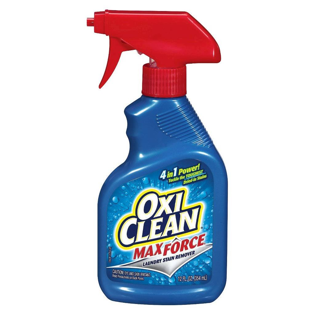 OxiClean Max Force Laundry Stain Remover Spray 12 oz (pack of 2)