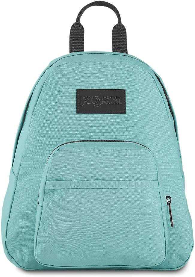 Ideal Day Bag for Travel /& Sightseeing Hazy Green JanSport Half Pint LS Mini Backpack