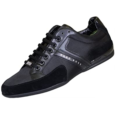 BOSS Green Spacit 10167195 01, hombre low-top zapatillas, color negro, talla 45 EU