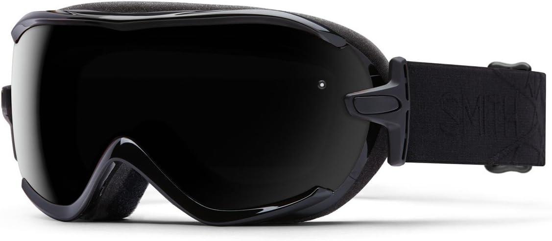 Smith Optics Virtue Women s Spherical Series Ski Snowmobile Goggles Eyewear – Black Lux Blackout Small