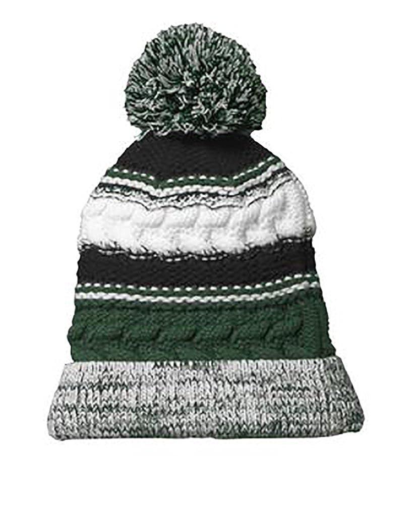 Sport-Tek Womens College Spirit Hat Scarf and Gloves 4 Piece Set