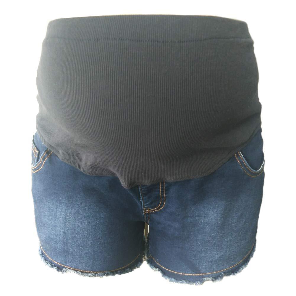 Amazon.com: GIFTPOCKET pantalones cortos de maternidad de ...