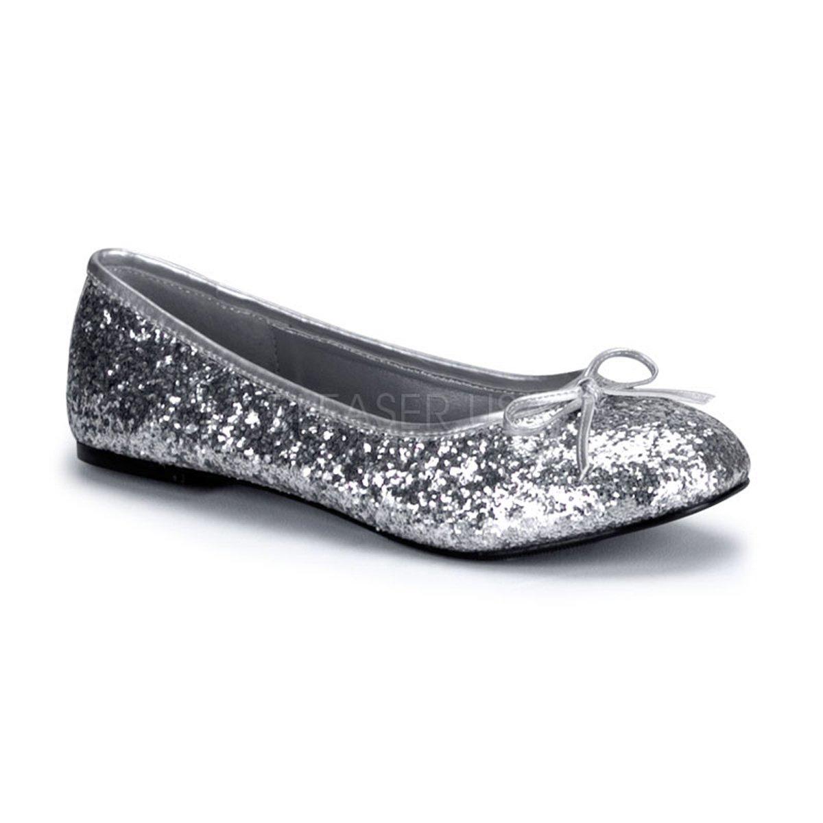 Funtasma STAR-16G womens Flats Shoes B074P9F5QW 5 B(M) US|Silver Glitter