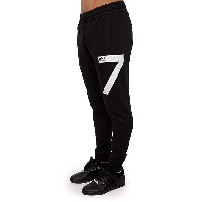 efc1fec362 EMPORIO ARMANI Pantalone Tuta Uomo EA7 Nero: Amazon.co.uk: Clothing
