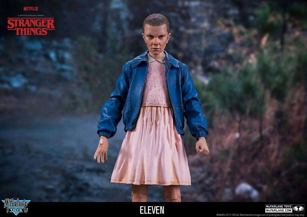 amazon com stranger things eleven 7 inch action figure toys games