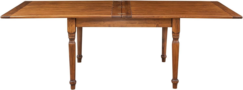 Kekse Ausziehbarer Tisch in Buchform aus massivem Lindenholz