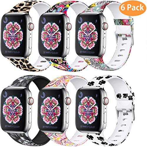 Amazon.com: Laffav - Correa de repuesto para Apple Watch de ...