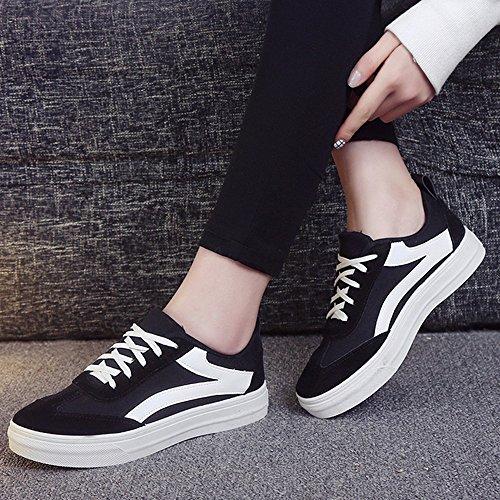 Zapatos Nan Help Individuales Cuatro Zapatos Mujer y Shoes Colores Low Canvas Deportivos Negro Zapatos nuevos Primavera Los Verano de de BEwc6q8