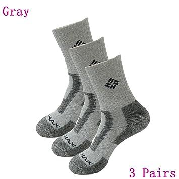 3 pares de hombre al aire libre Ciclismo calcetines de senderismo calcetines de senderismo escalada al