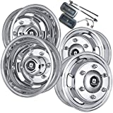 Alcoa 16'' Dual Wheel Dura Bright Package for a Freightliner or Mercedes Sprinter