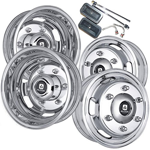 Alcoa 16' Dual Wheel Dura Bright Package for a Freightliner or Mercedes Sprinter