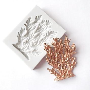Foreverweihuajz Diy Schone Korallen Form Fond Kuchen Schokolade