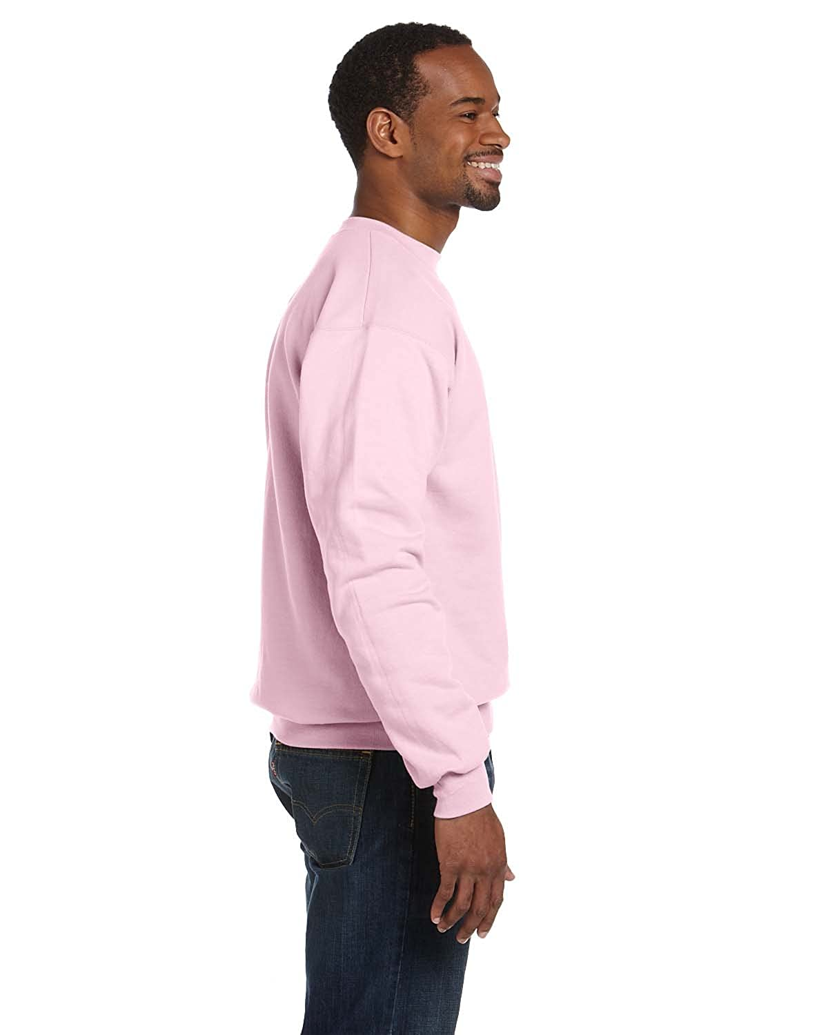 ca6e9d48 Now this medium weight 7.8-oz fleece sweatshirt is even better, because it  is made with up to 5% polyester created from recycled plastic.