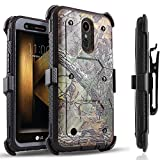 LG K20 Plus Case, LG K20 V Case, LG V5 Case, LG K10 2017 Case, Circlemalls [SUPER GUARD] Dual Layer Hybrid Protective Cover With [Built-in Screen Protector] Holster Belt Clip + Touch Screen Pen Camo