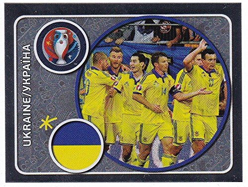 Panini EURO 2016 France - Sticker #235 (Ukraine)