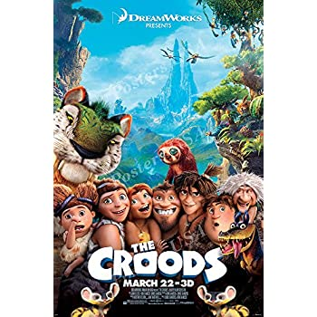 Posters USA DreamWorks The Croods Movie Poster GLOSSY FINISH - FIL104 (16
