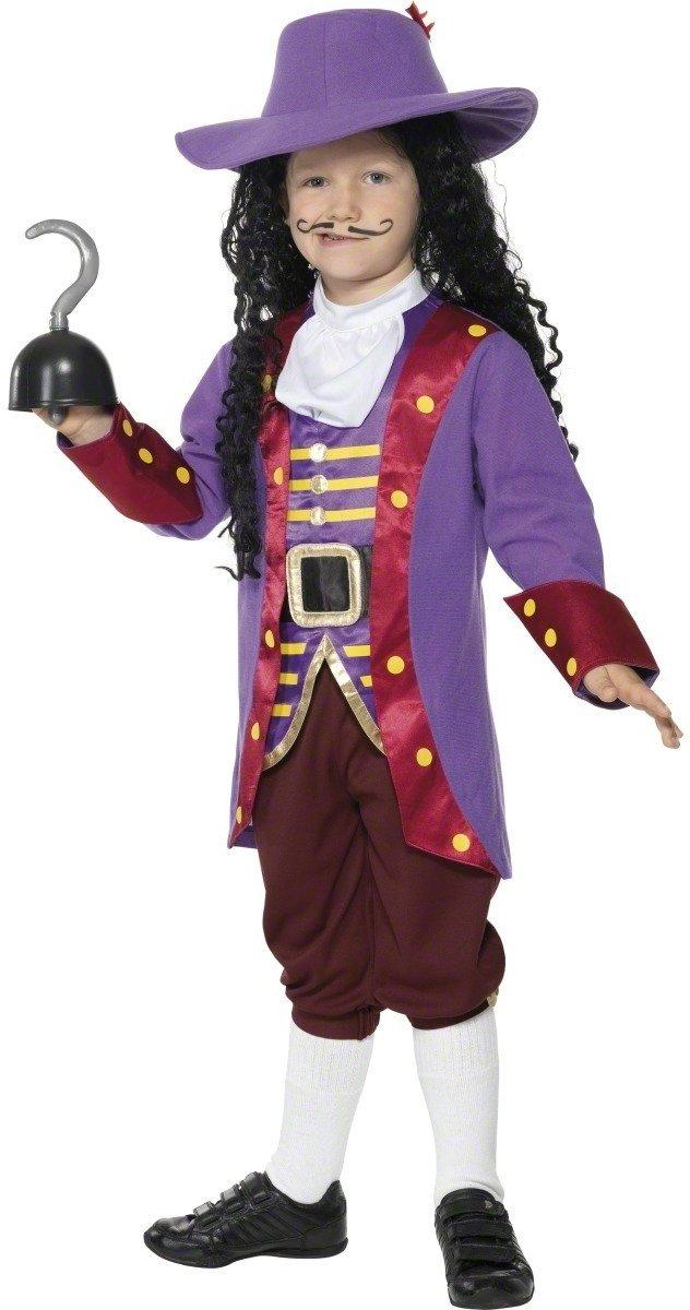 Smiffys Disfraz de Capitán Garfio para niño: Amazon.es ...