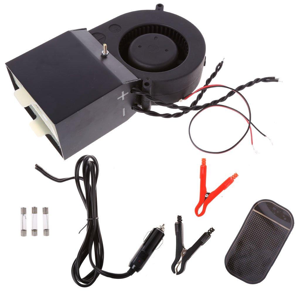 RingBuu Car Heater Fans, Defroster Demister for Adjustable 350W/500W PTC Ceramic Car, DC 12V