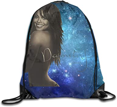 CAOI UUC Janet Jackson Damita Jo Gym Drawstring Backpack Bags