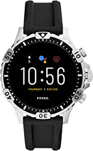 Fossil FTW4041 BLACK STEEL 316 L digital quartz Man Watch