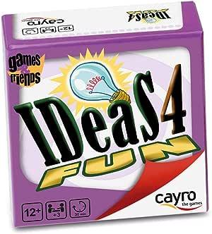 Cayro - Ideas 4 Fun - Juego de lenguaje y Vocabulario - Juego de Mesa - Desarrollo de Habilidades cognitivas e inteligencias múltiples - Juego de Mesa (7006): Amazon.es: Juguetes y juegos
