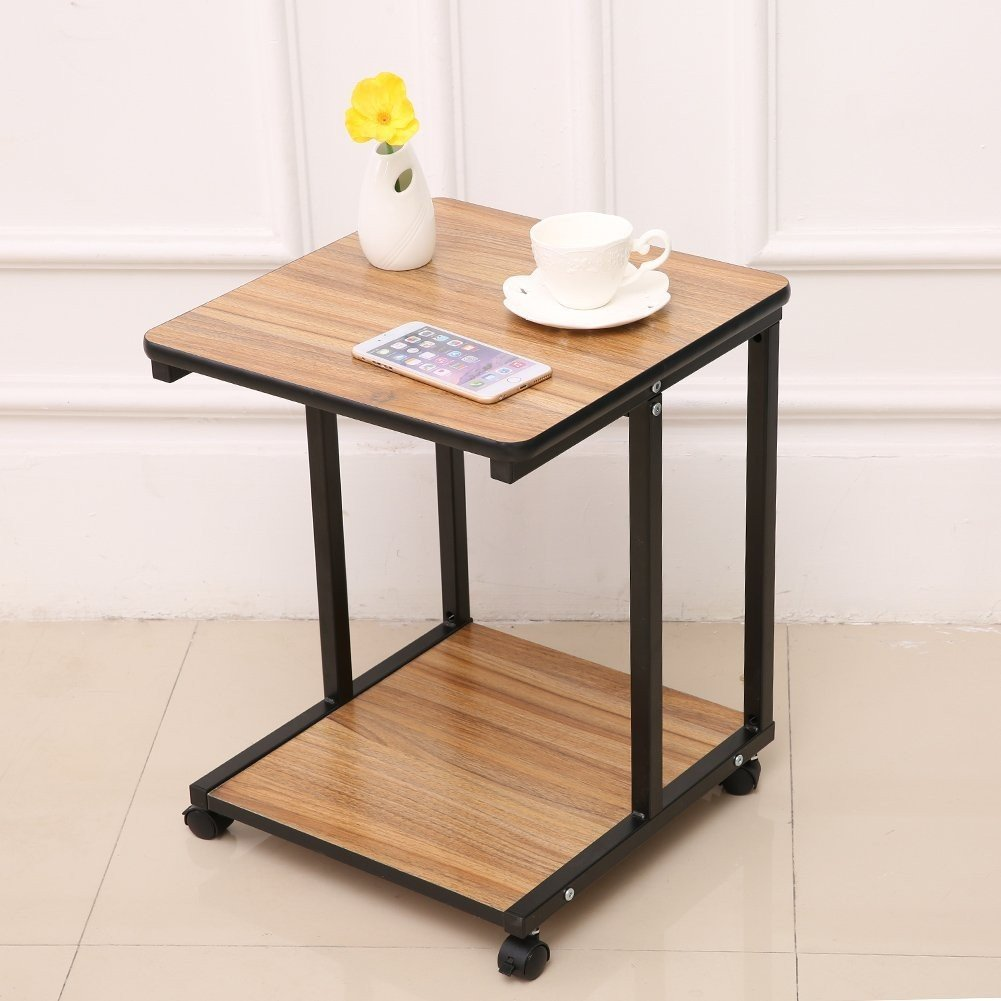 Indoor Multi-function Accent table Study Computer Desk Bedroom Living Room Modern Style End Table Sofa Side Table Coffee Table Coffee Table