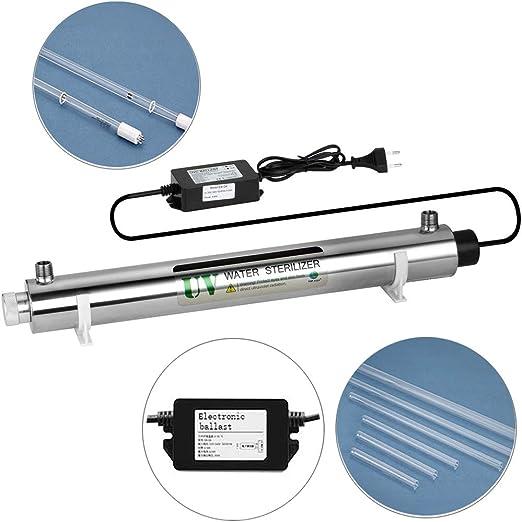 OTO 35W Luz Ultravioleta UV Agua esterilizador del Filtro ...